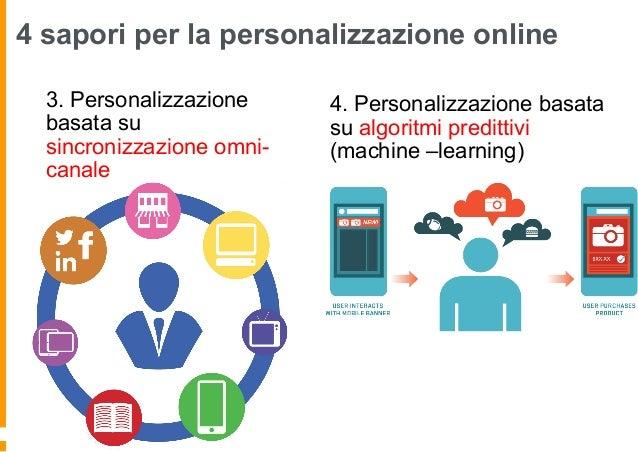La personalizzazione online Molti siti di ecommerce usano la personalizzazione basata sui dati tracciati sul singolo consu...
