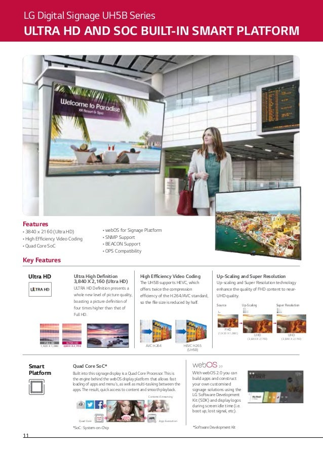 Commercial TV & Signage Catalogue