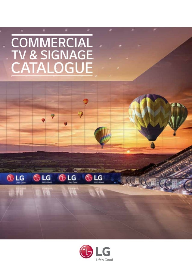 Commercial Tv Signage Catalogue
