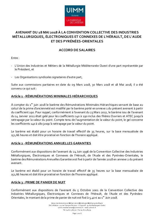 Union des Industries et Métiers de la Métallurgie Méditerranée Ouest ZAC Aftalion - 14 rue François Perroux - CS 90028 - 3...