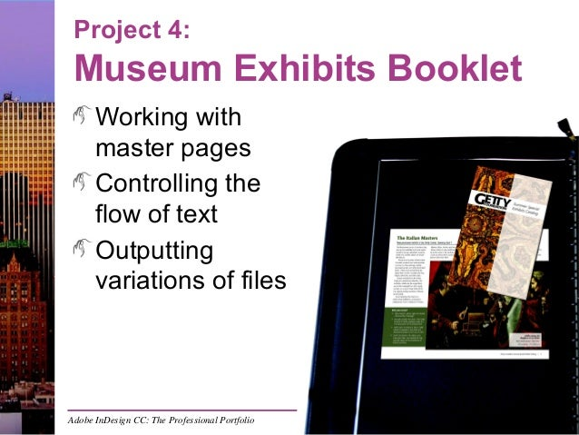 indesign project 4 museum exhibits booklet rh slideshare net