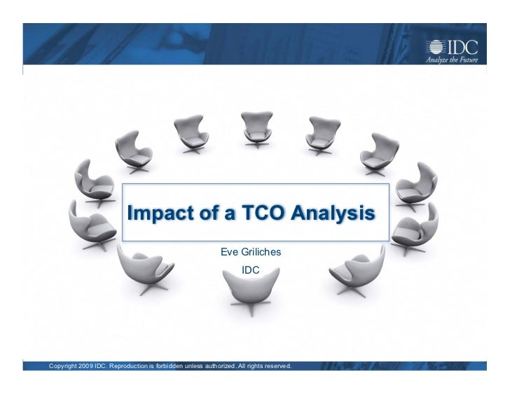 Impact of a TCO Analysis                                                             Eve Griliches                        ...