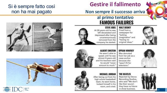 © IDC Visit us at IDCitalia.com and follow us on Twitter: @IDCItaly Si è sempre fatto così non ha mai pagato Non sempre il...