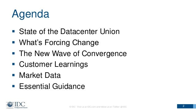 IDC Nutanix - Hyperconvergence and the Pulling Forces in the Datacenter Slide 2