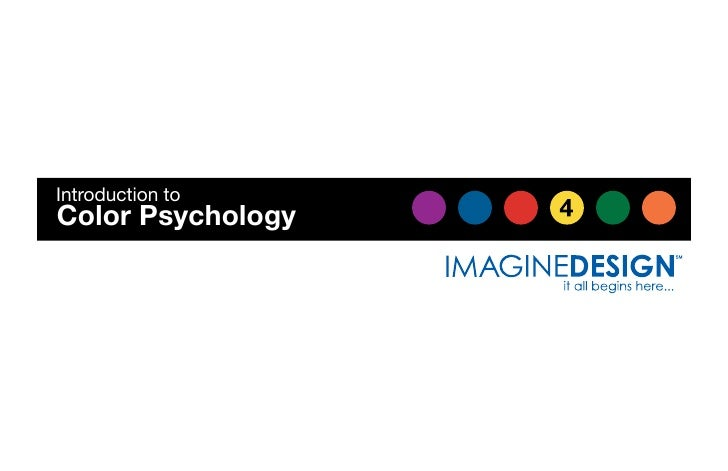 Introduction to Color Psychology