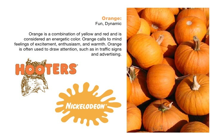 Psychology Of The Color Orange Color Psychology Presentation