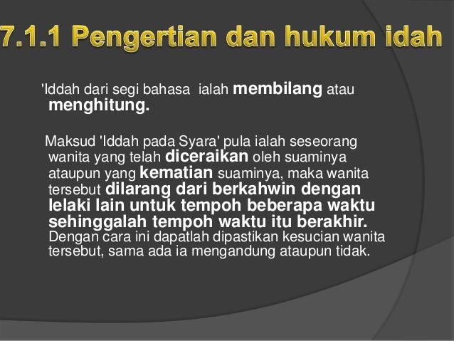 Nafkah Dan Zakat Isteri Yang Dalam 'Iddah