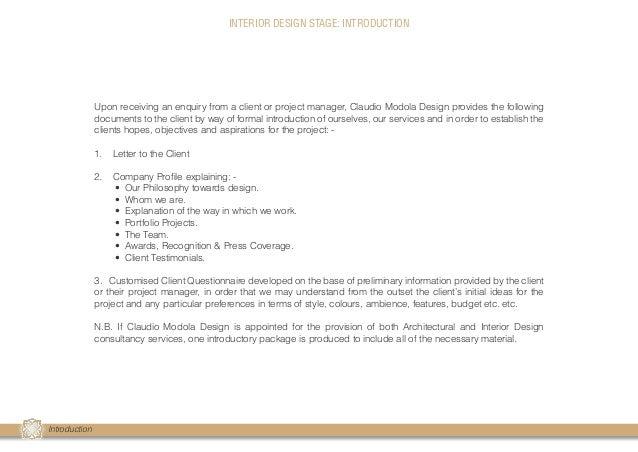 interior design client profile questionnaire templates