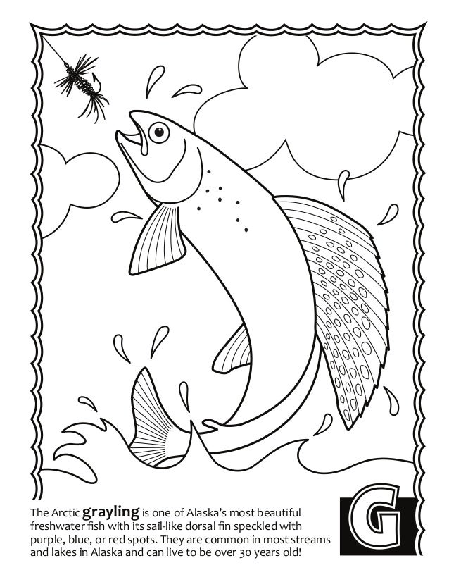 alaska coloring book pages - photo#11