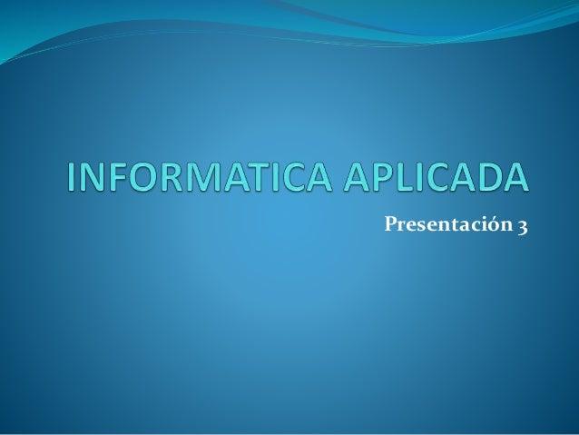Se realizaron las presentaciones en la versión 2007, teniendo la facilidad de realizar las animaciones y diseño de las dia...