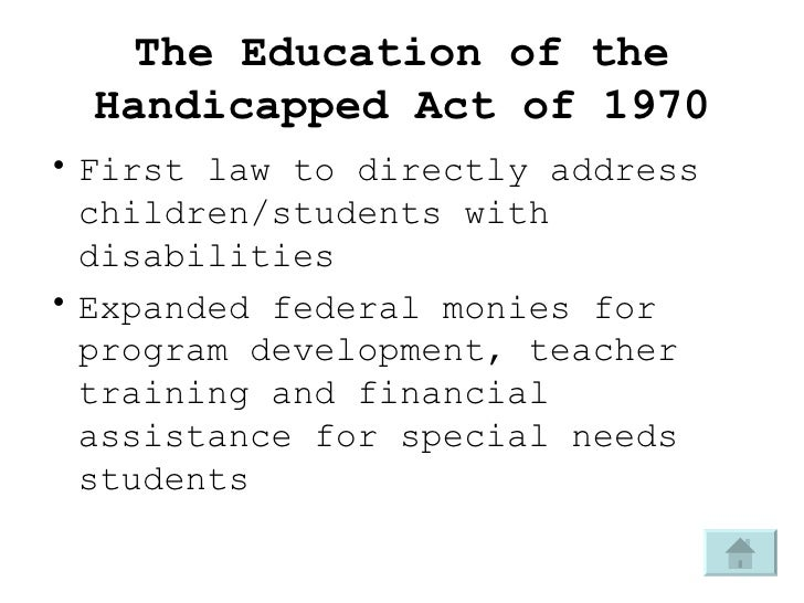 the individuals with dsabilities education act essay Early childhood disabilities and special  individuals with disabilities education improvement act  early childhood disabilities and special education.