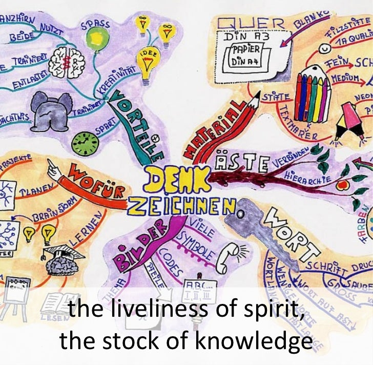 the liveliness of spirit, the stock of knowledge
