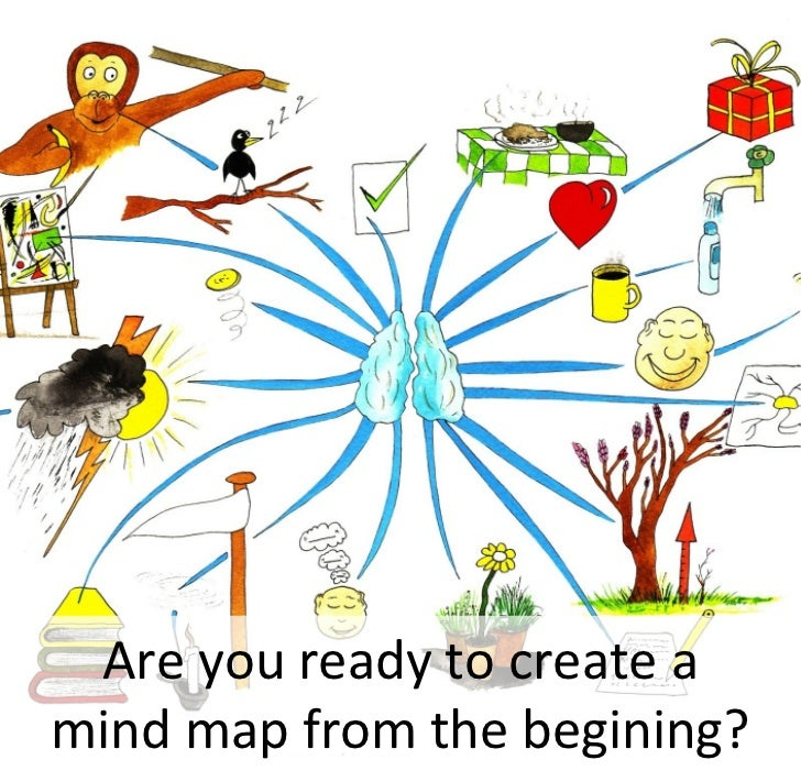 Are you ready to create a mind map from the begining?