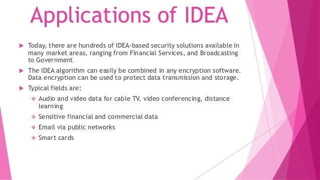 IDEA ALGORITHM IN CRYPTOGRAPHY DOWNLOAD
