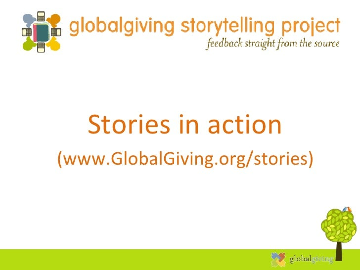 10/25/11 Stories in action (www.GlobalGiving.org/stories)