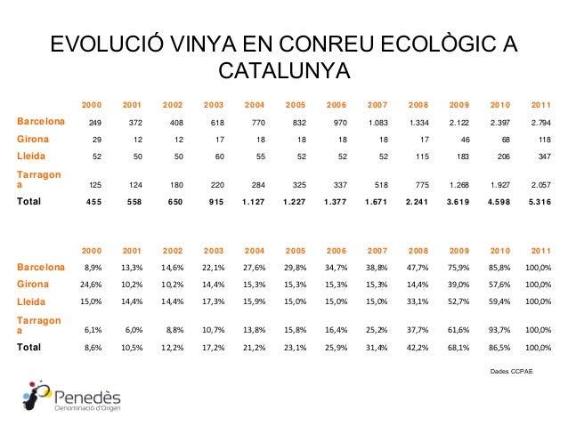 Idea 2   vinya en conreu ecològic a catalunya i do penedès Slide 2
