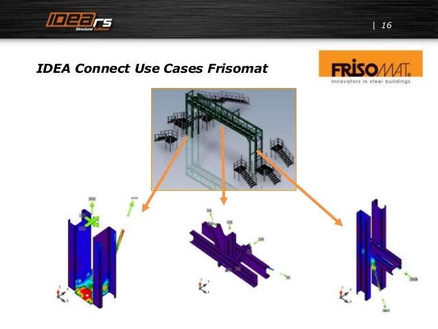 16 IDEA Connect Use Cases Frisomat