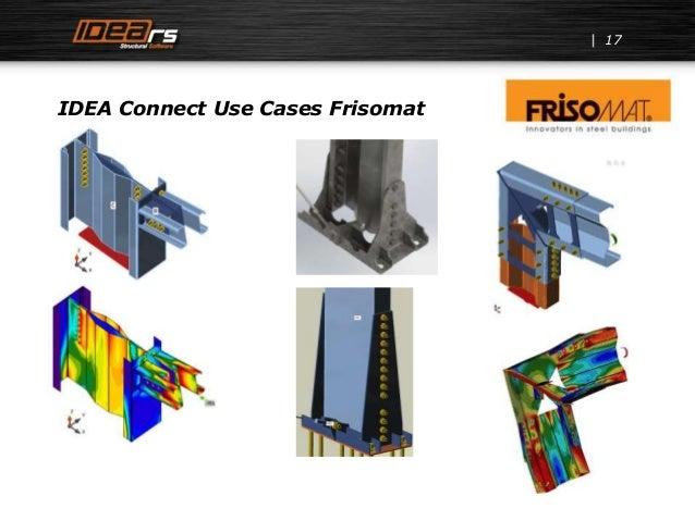 17 IDEA Connect Use Cases Frisomat