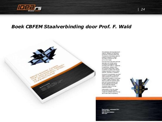 24 Boek CBFEM Staalverbinding door Prof. F. Wald
