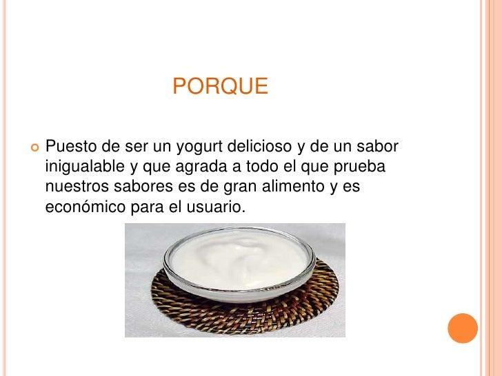 Idea De Proyecto Yogures Yorkures Slide 2
