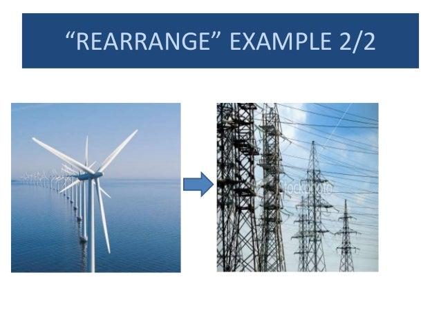 """""""REARRANGE"""" EXAMPLE 2/2"""