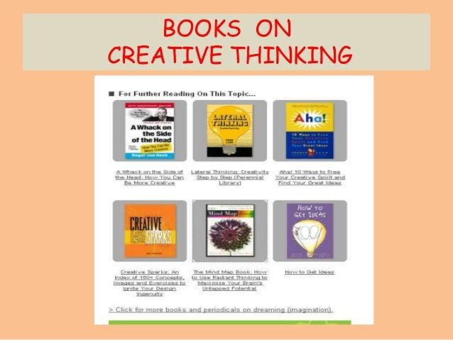 BOOKS ON CREATIVE THINKING