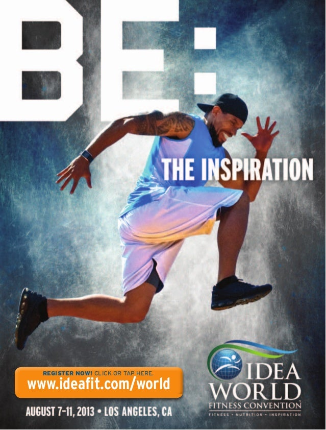 REGISTER NOW! CLICK OR TAP HERE.www.ideafit.com/world