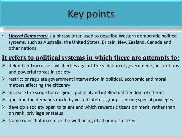 Liberal democracy essay