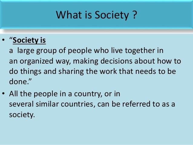 The ideal governing society essay