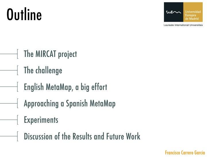Presentación en IDEAL 2008 Slide 2