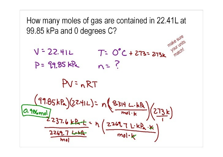 Free Worksheets boyles law and charles law worksheet : Ideal Gas Law Problems
