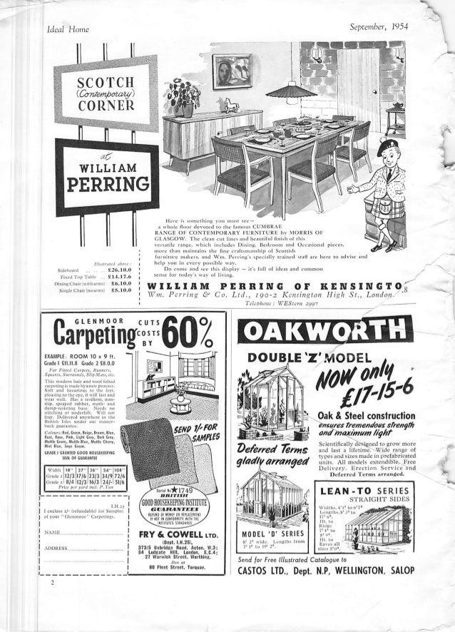 Ideal Home Magazine September 1954