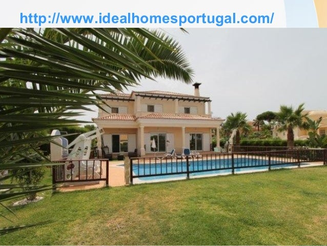 http://www.idealhomesportugal.com/  Acres of lush green golf courses and chic yachting marinas add a cosmopolitan air to ...