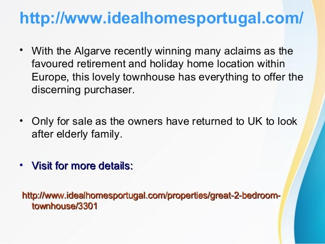 http://www.idealhomesportugal.com/ 3: LOVELY 4 BEDROOM VILLA ON A PRIVATE CONDOMINIUM IN ALBUFEIRA (in Albufeira, Central ...