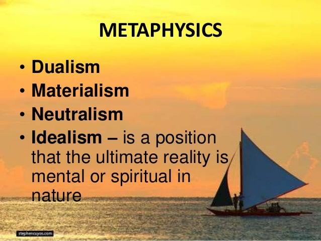 modern idealism