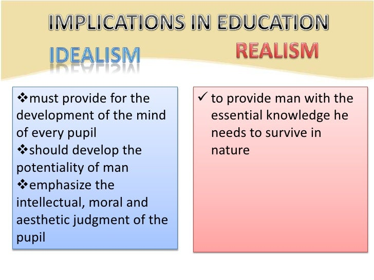 pragmatism vs idealism a man Don quixote is about an old, retired man named alonso quixano he spends most of his time reading chivalrous tales-so much so that he hardly eats or sleeps, causing people to think he has lost his mind.