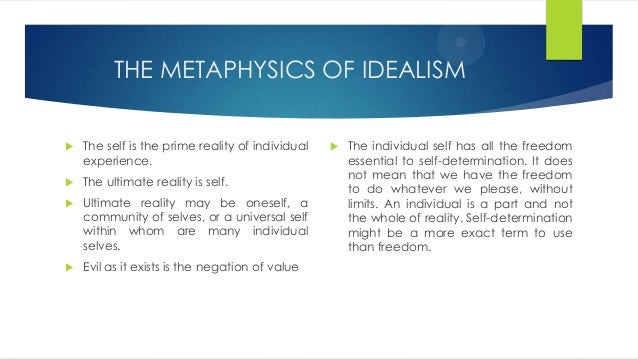 essays on realism and idealism Idealism essay examples 62 total results an analysis of the positive and negative aspects of idealism in the a critical analysis of idealism, realism and anti.