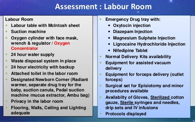 Ideal Labour Room