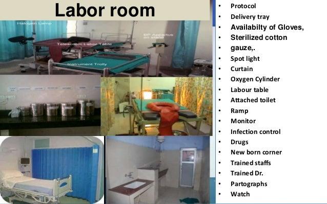 Hospital Labor Room Size