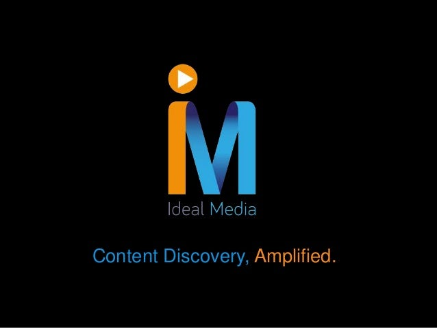 Content Discovery, Amplified.