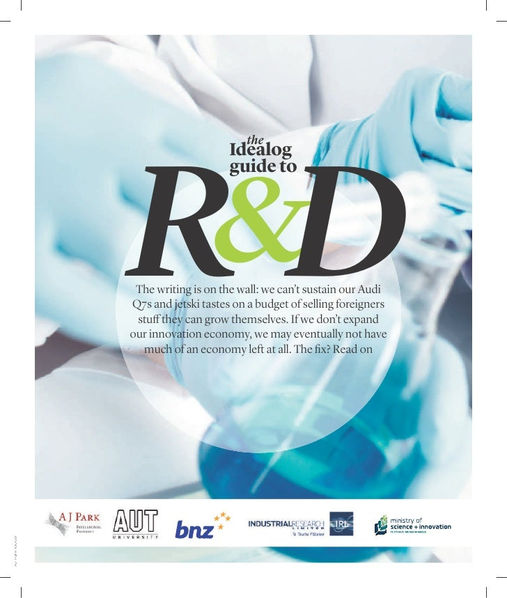 The Idealog guide to R&D                                         the                                     Idealog          ...