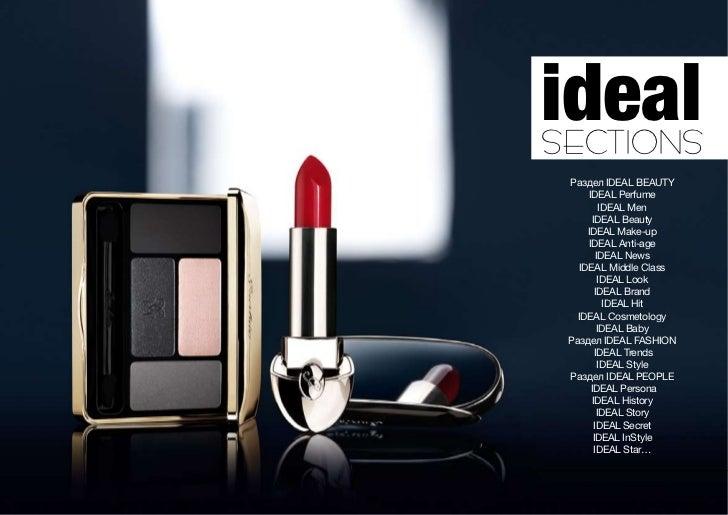idealSECTIONS Раздел IDEAL BEAUTY      IDEAL Perfume           IDEAL Men        IDEAL Beauty     IDEAL Make-up      IDEAL ...