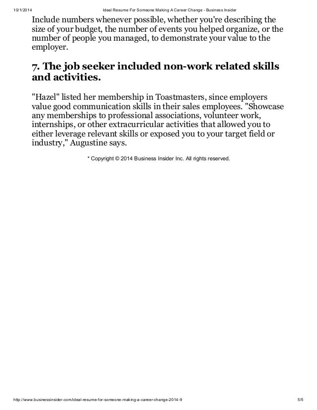 career change resume career change a resumes a resumes