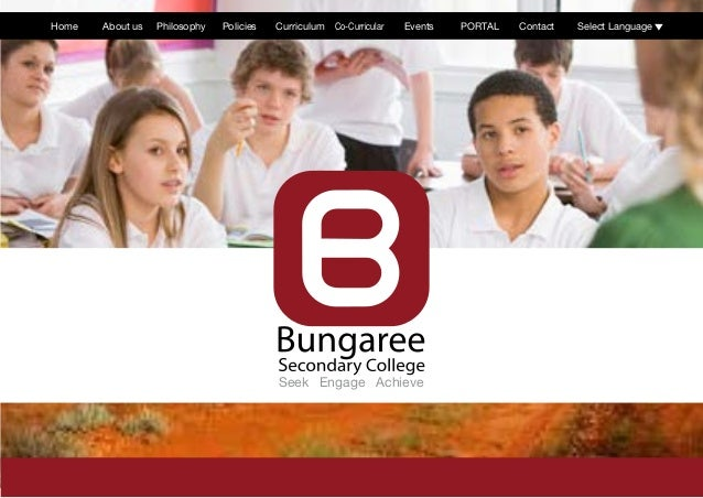 Seek Engage AchieveHome About us Philosophy Policies Curriculum Co-Curricular Events PORTAL Contact Select Language