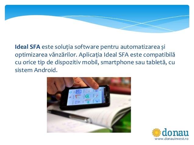 Ideal SFA - Solutia software pentru automatizarea vanzarilor Slide 2