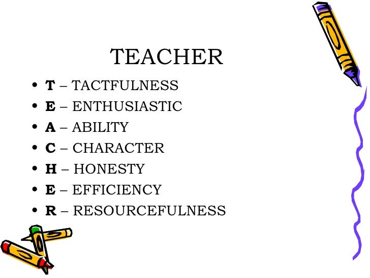ideal teacher teacher