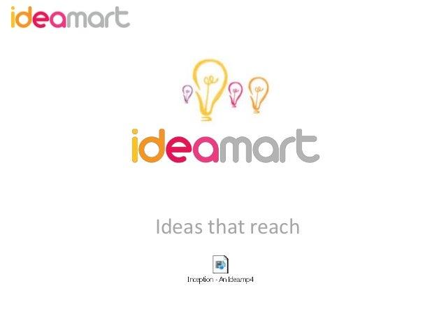 Ideas that reach
