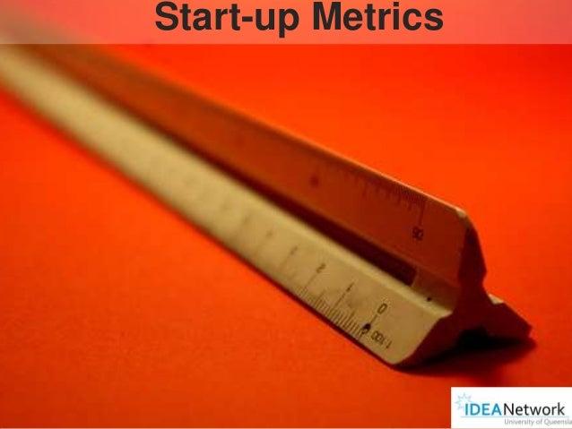 Start-up Metrics