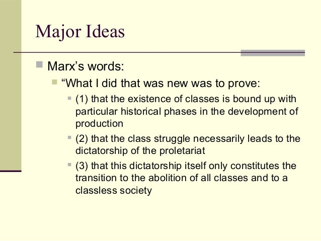 the pattern of class struggle marx It must be emphasized that this pattern is not something peculiar to the socialist   history it is a key to the dynamics of class struggle and intra-class struggle.