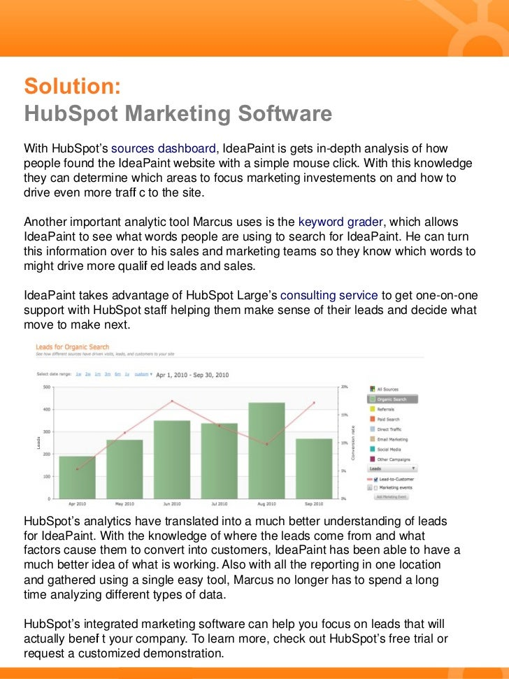 IdeaPaint Uses Marketing Analytics to Make Smart Investments Slide 2